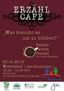 Einladung Erzählcafe